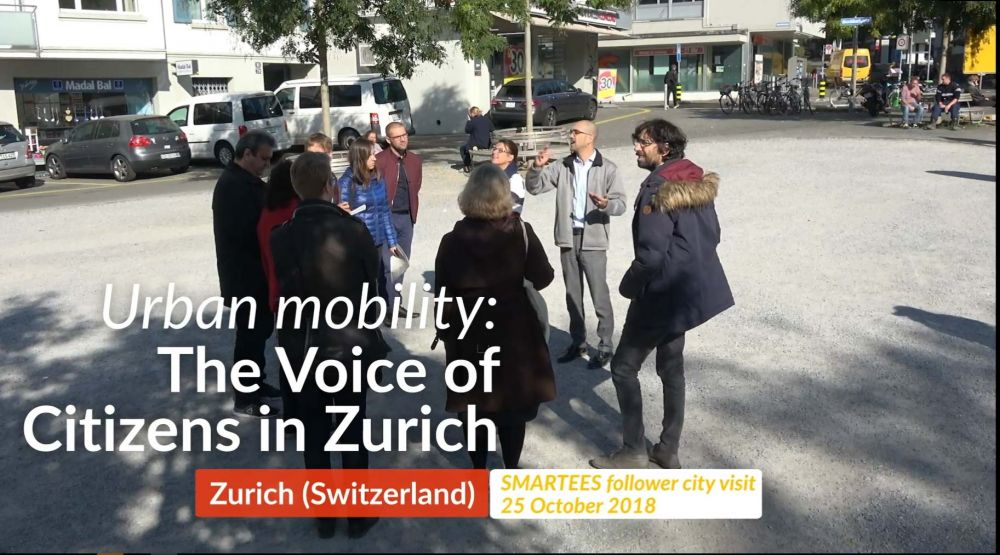 "Video ""Urban Mobility: The Voice of Citizens in Zurich"" launched"
