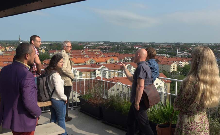 SMARTEES cities explored Malmö's experience in district regeneration